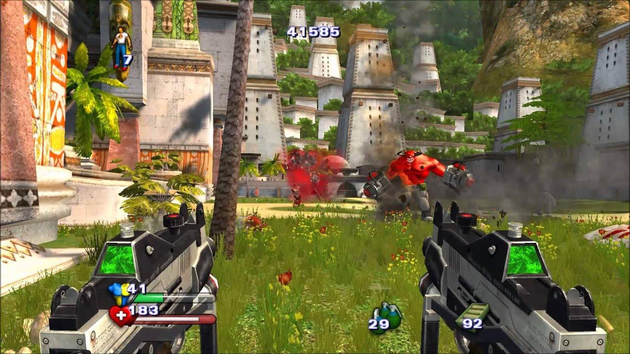 Serious Sam 2 выдалась классной игрой, но не пришлась по нраву фанатам за излишнюю мультяшность и несерьёзность.