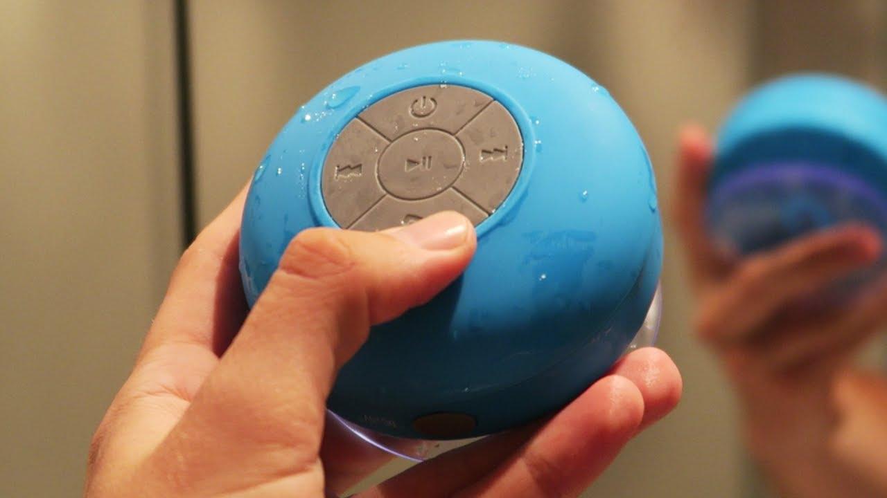Draadloze Speaker Badkamer : Een waterdichte speaker voor onder de douche mooi of zooi youtube