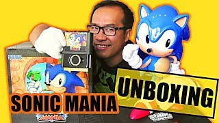 SONIC MANIA COLLECTOR : Notre UNBOXING Complet !