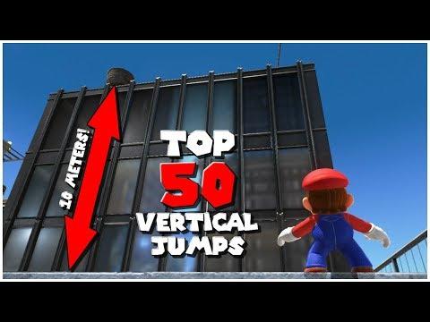 Top 50 Vertical Jumps | Super Mario Odyssey