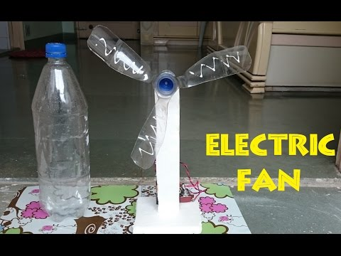How To Make An Electric Table Fan Using Bottle Easy Way