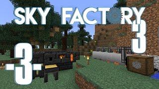 Sky Factory 3 på land - Ep .03 - Mob farm, cobble generator og smeltery (HD)