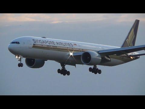 Plane Spotting at London Heathrow Airport - 09L Landings & 27R Take offs