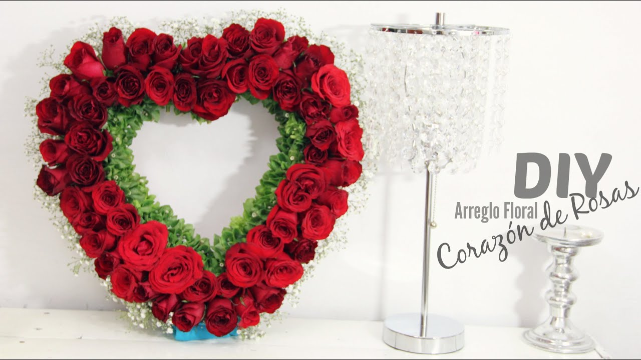 Diy San Valentin Ideas Arreglo Flores Naturales Para Vender O Regalar Marytó Chocolate