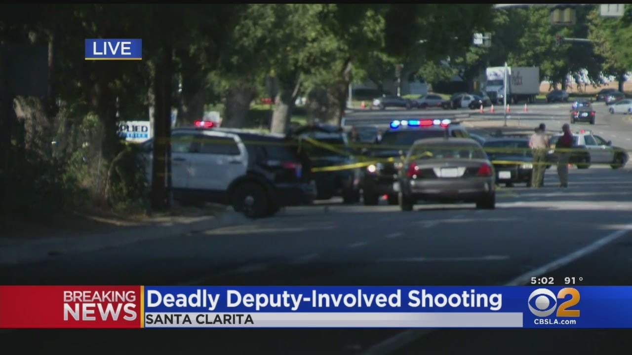 Male Suspect Fatally Injured During Deputy-Involved Shooting In Santa Clarita