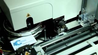 Производство пластиковых карт. Эбоссирование(, 2012-10-19T06:28:19.000Z)