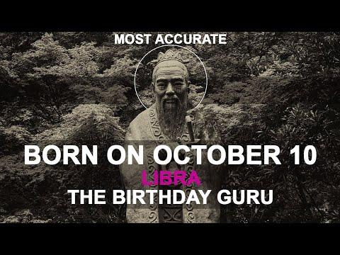 Born on October 10   Birthday   #aboutyourbirthday   Sample