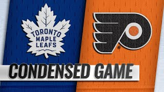 03/27/19 Condensed Game: Maple Leafs @ Flyers