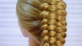 Коса/ Красивая прическа с плетением косы/ Beautiful Hairstyle Tutorial Compilation 2017/Прически