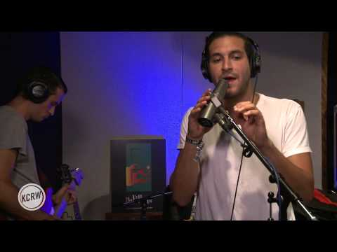 "Holy Ghost! performing ""Hold My Breath"" Live at the Village on KCRW"