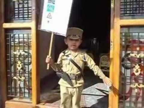 Fancy Dress competition - Atharva Balvalli (KG 2) as Police ...