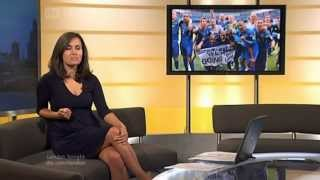 AFC Wimbledon- AFC Wimbledon feature on London Tonight following promotion to the Football League