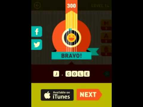 Icon Pop Song Quiz game answers level 14