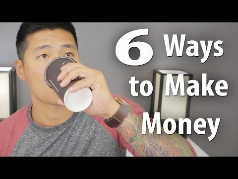 6 REAL Ways to Make Money Online