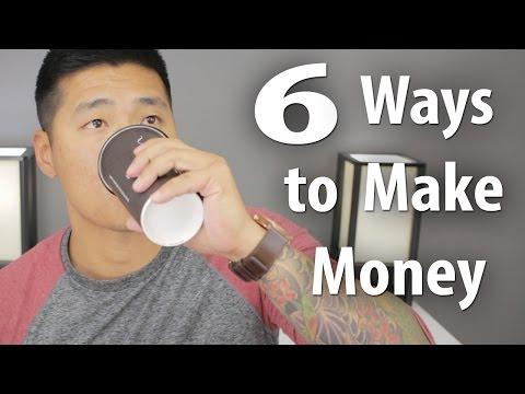 6 REAL Ways to Make Money Online