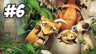 Ice Age: Dawn of the Dinosaurs Walkthrough | Part 6 (Xbox360/PS3/Wii/PC)