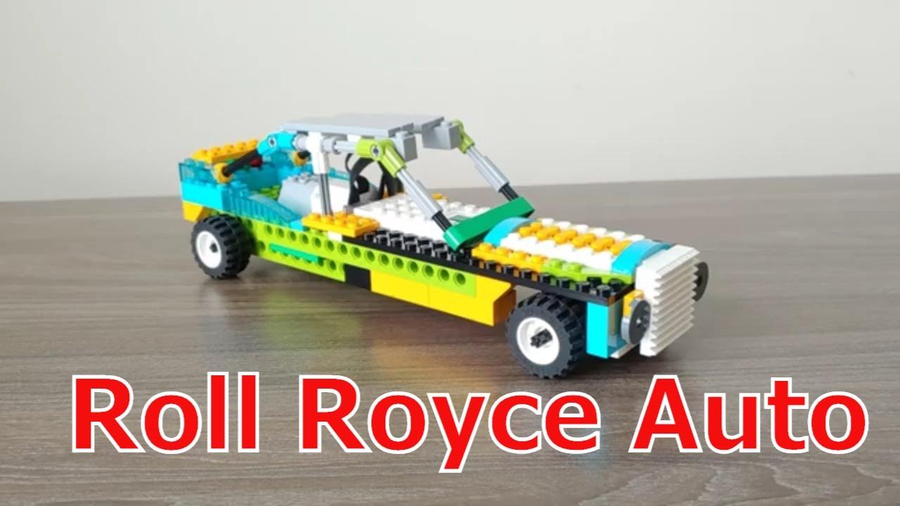 Roll Royce Car | Lego wedo 2.0 - YouTube
