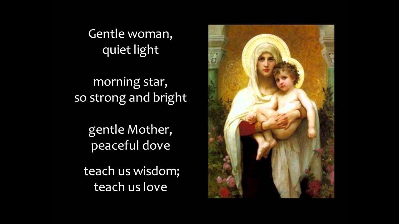 Hail Mary! Gentle Woman (with lyrics)