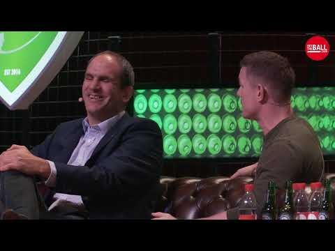OTBHRC: Martin Johnson, Brian O'Driscoll, Nick Popplewell and Eddie O'Sullivan