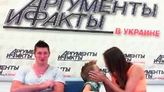 Семья Дудник, победители шоу «Україна має талант» в гостях у АиФ.ua