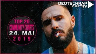 TOP 20 Deutschrap COMMUNITY CHARTS 24. Mai 2019