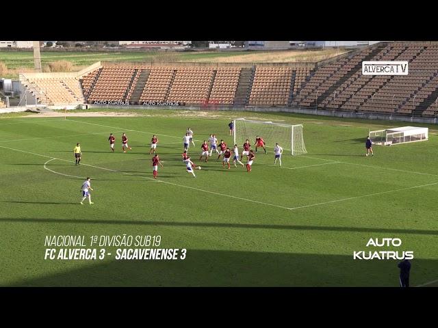 Sub19 FC Alverca 3 - Sacavenense 3 Highlights