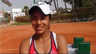 Selma Ziouti après sa victoire en Finale du FRMT Grade A au SM