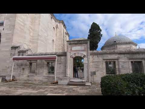 VLOG Великолепный век. Могилы Султана Сулеймана и Хюррем Султан. Мечеть Сулеймание. Стамбул 2020