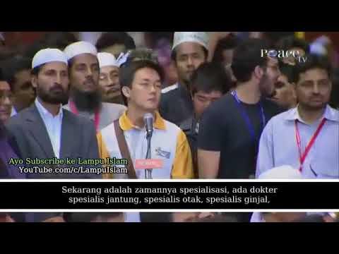 WAPITU NET Debat Hebat Zakir Naik Hampir Kalah