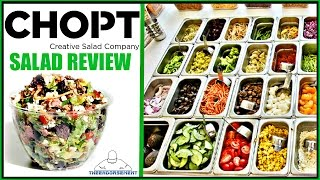 CHOPT® | CUSTOMER CRAFT SALAD REVIEW | THEENDORSEMENT