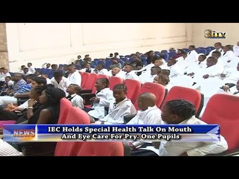 IEC holds special health talk on mouth and eye care for Pri. 1 pupils