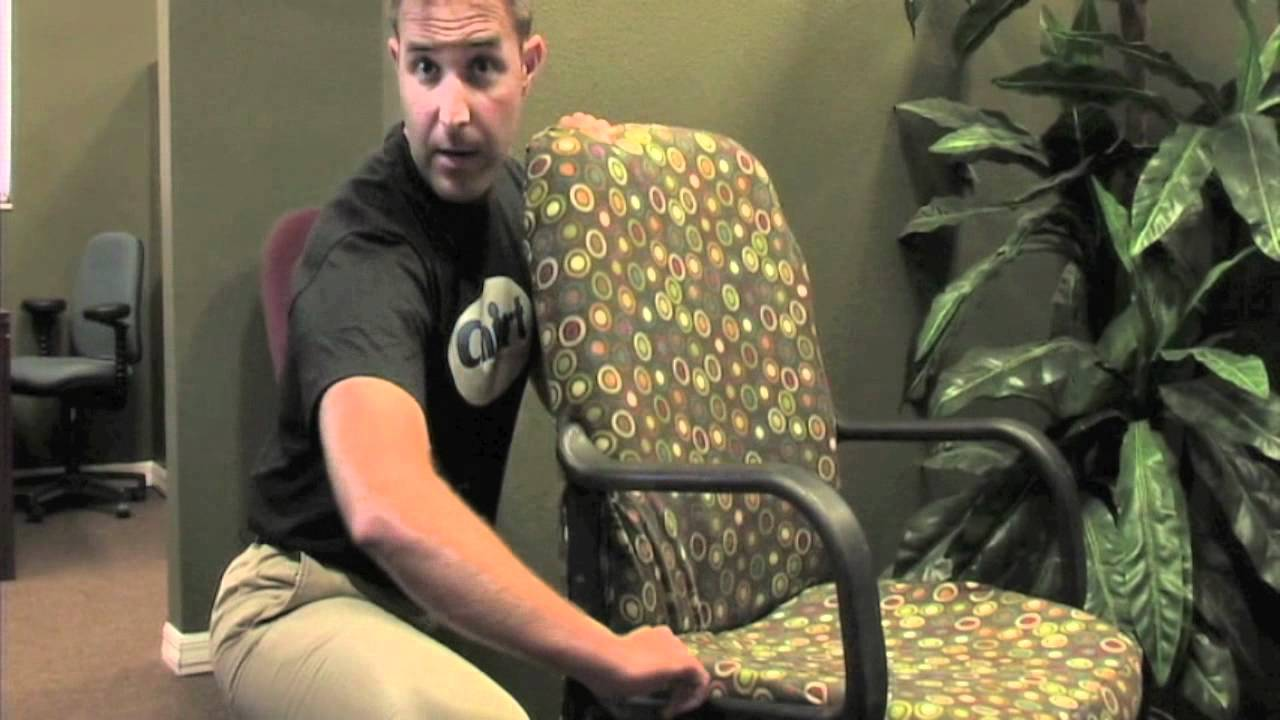 arm chair covers for office chairs black pub table and how to dress your with a chirt custom cover by chairwear fashion youtube