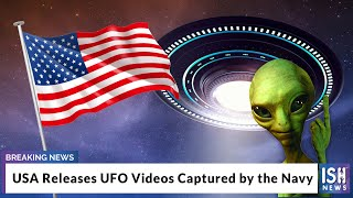 Usa releases ufo videos captured by the navy