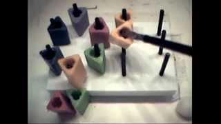 Peg Board Single Hand Drill - Right Hand