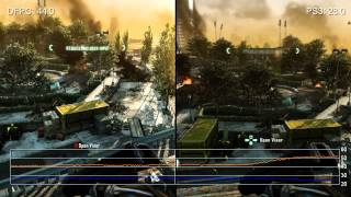 Crysis 2: Digital Foundry Budget PC vs. PS3 Frame-Rate Analysis