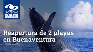 Con la reapertura de 2 playas, Buenaventura busca seducir a propios y extraños