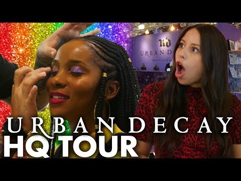Touring Urban Decay & Testing Pride-Inspired Makeup! (Beauty Trippin) thumbnail