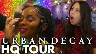 Touring Urban Decay & Testing Pride Inspired Makeup! (Beauty Trippin)