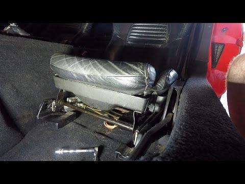 1995 C4 Corvette power drivers seat removal