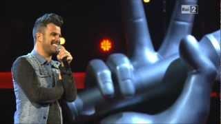 Daniele Vit - The Voice of Italy - Se bastasse una canzone - Eros Ramazzotti (AUDIO & FOTO)