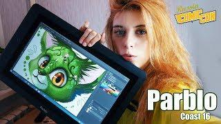 Графический планшет PARBLO Coast 16 | ОБЗОР