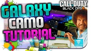 """BLACK OPS 3 PAINT SHOP TUTORIAL!"" - ""GALAXY CAMO!"" ★ (COD BO3: Best Paint Jobs/Camo Design)"