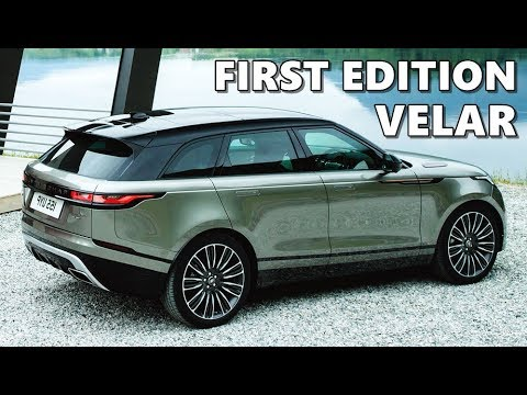 2018 range rover velar first edition in action youtube. Black Bedroom Furniture Sets. Home Design Ideas