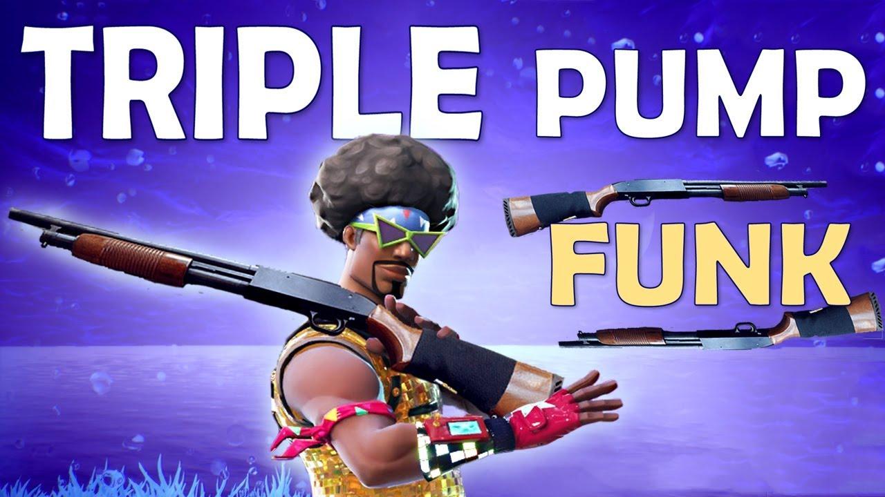 Triple Pump Funk Solo Slaughter Fortnite Battle Royale