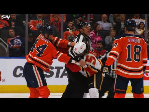 Zack Kassian gets gate for throwing punches after linesmen broke up fight