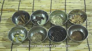 How To Make Garam Masala Indian Spice Recipe गरम मसाला