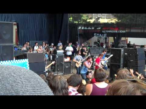 """Dance Gavin Dance - """"Spooks"""" Live - Warped Tour 2011"""
