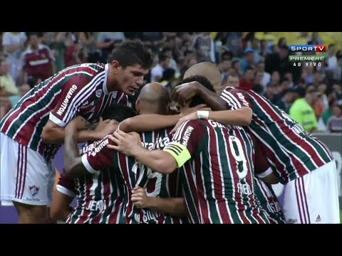 Gol de Jean, Fluminense 1 x 4 Palmeiras - Brasileirão 16/09/2015
