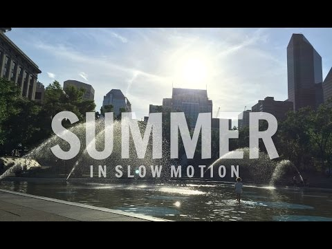 Summer In Slow Motion - Olympic Plaza
