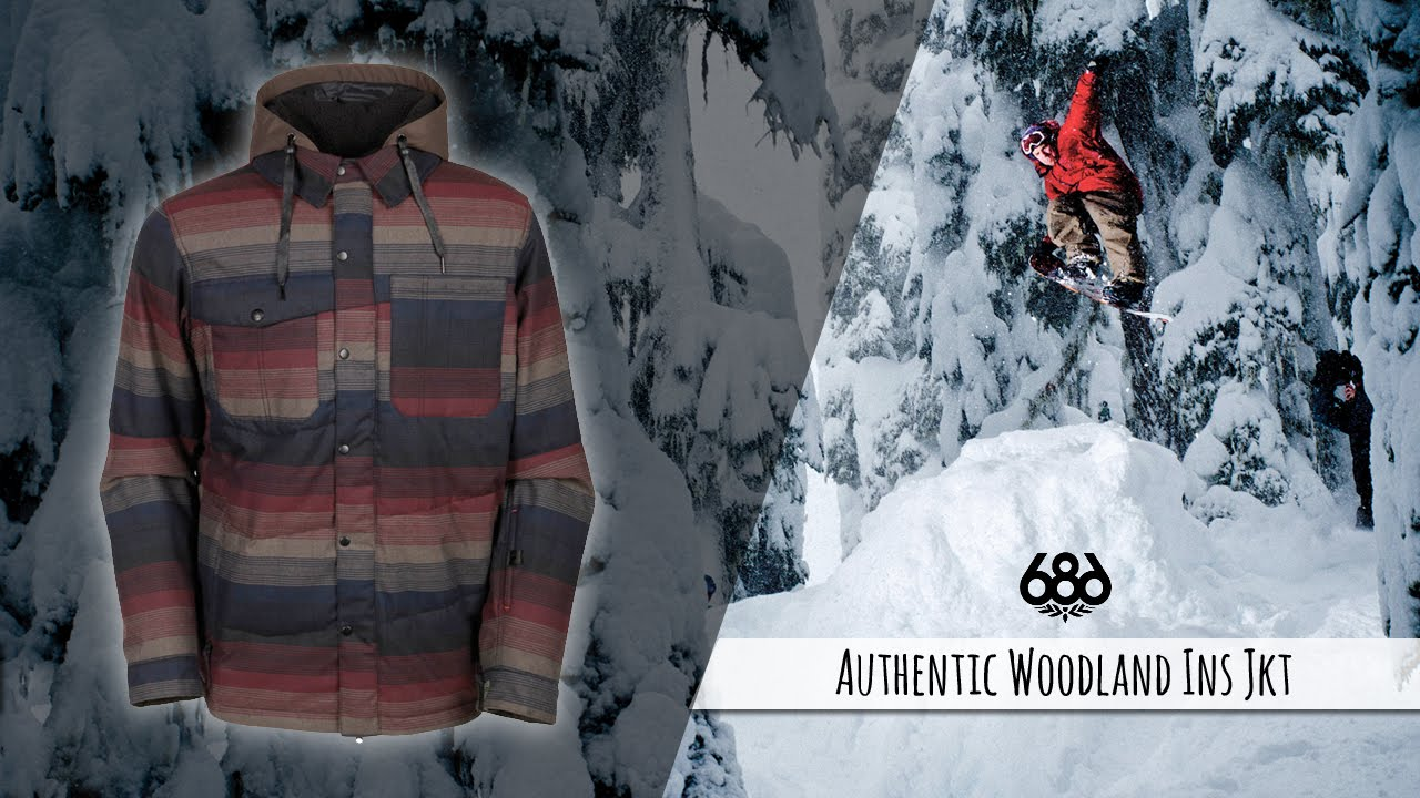 686 Authentic Woodland Ins Jkt